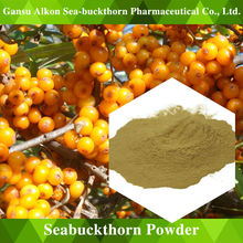 Seabuckthorn Fruit Powder pure natural nutritious drinks and sweet and sour taste and rich in vitamin C