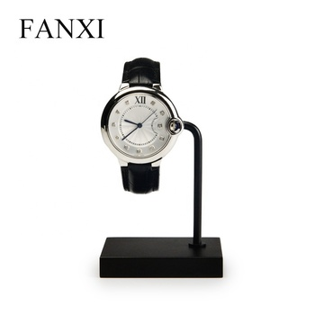 FANXI factory wholesale custom logo acrylic & metal watch display stand