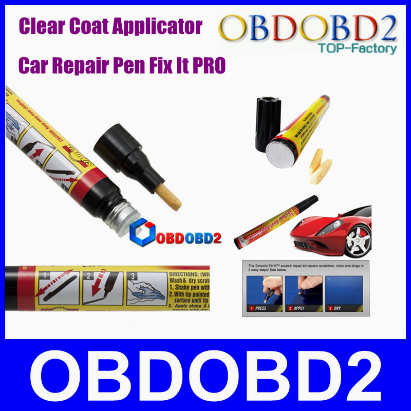 new coming fix it pro clear car scratch repair pen tool from simoniz car repair remover as seen. Black Bedroom Furniture Sets. Home Design Ideas