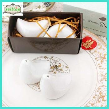 Cheaper Ceramic Salt And Pepper Shaker Wedding Favors In The