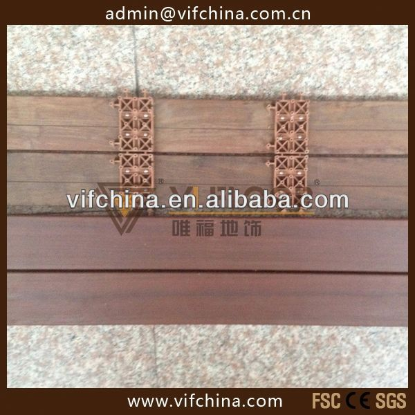 Natural IPE Wooden Decking