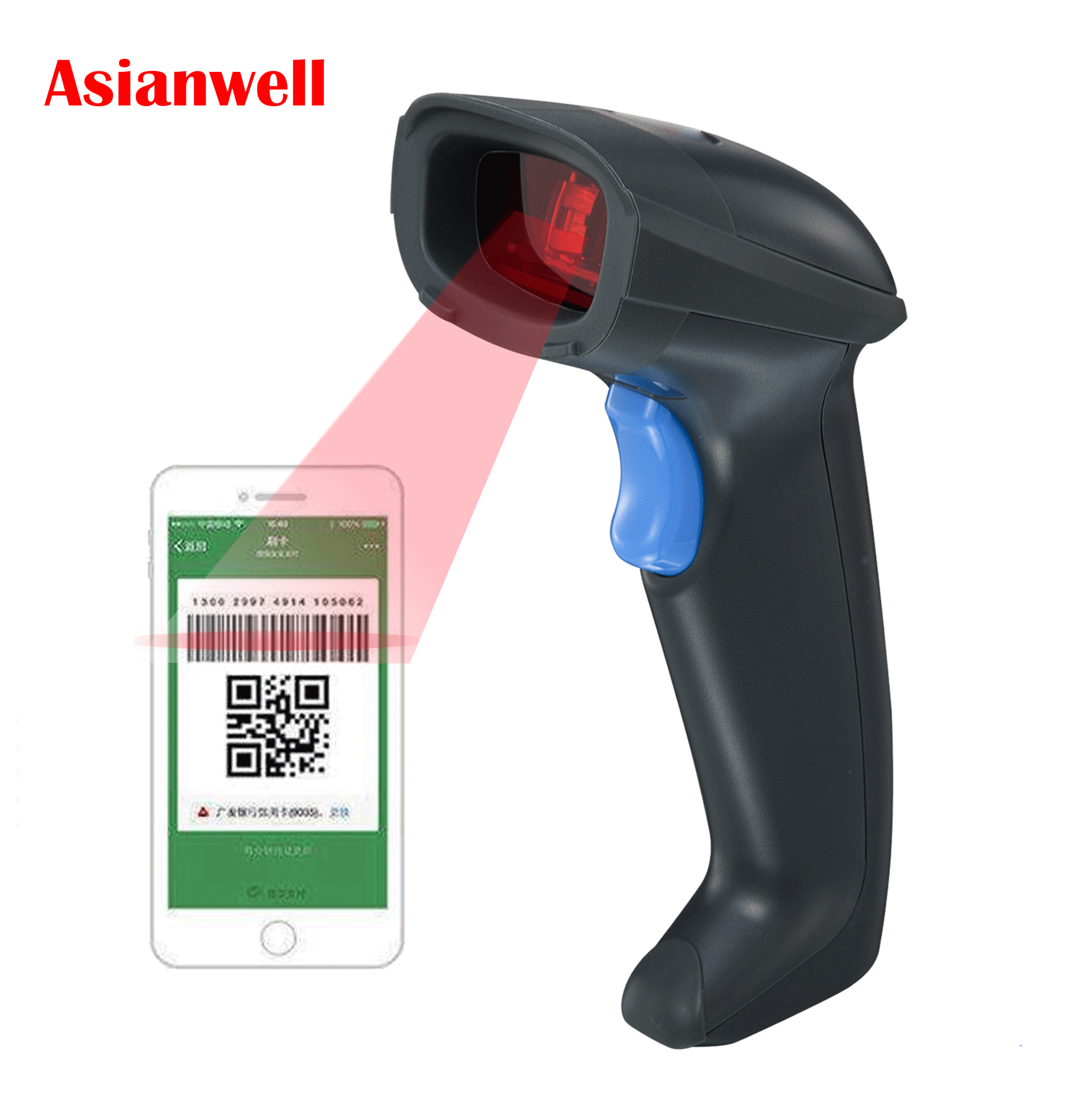 New dessert double-screen display supermarket touch pos system handheld business 1d barcode scanner android