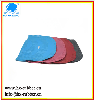 transparent silicone rubber sheet/natural rubber yoga mat/silicone shoe sole