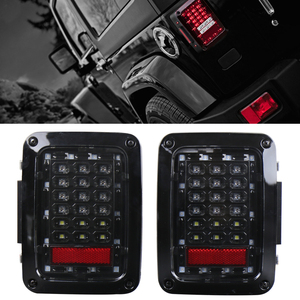 Multi Function PC Lens led brake light left/right hand version tail lamp for j-eep w-rangler