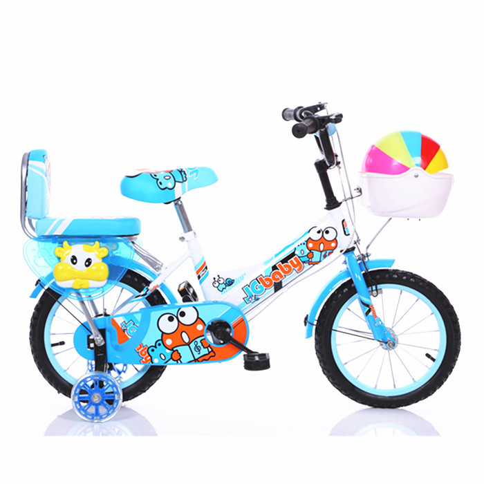 China New design Kids 4 Wheel Bike for boys / mini chopper 12 Inch Kid Bicycle Pictures / Mini BMX children bike with carrier