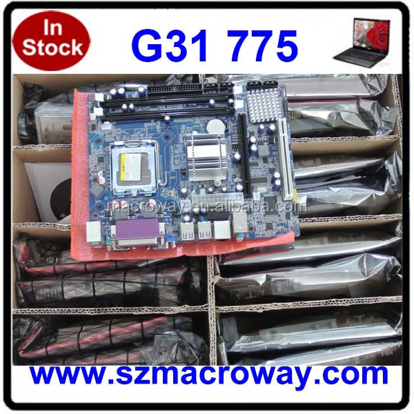 Fully tested 100% working desktop mainboard g31
