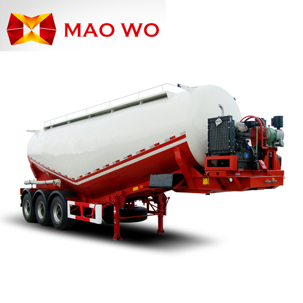 2017 Maowo Bulk cement transport tanker semi trailer and truck for sale