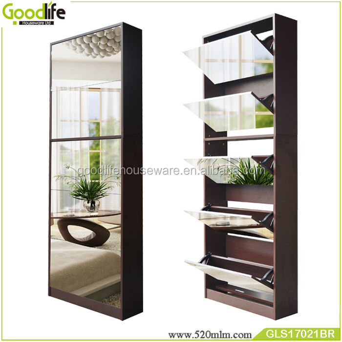Shoes Rack 50 Pair With Full Length Mirror From Foshan Factory Buy