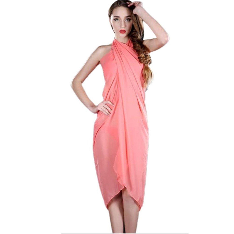 0f7c75e339 Get Quotations · Women Sexy Beach Cover up Chiffon Skirt Bikini Swimwear  Coverup Wrap Skirt Swimsuit