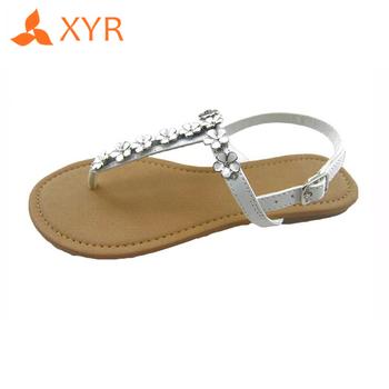 75b10a09d2a3 Xyr Eva Nice European Latest Designs Ladies Fancy Flat Sandal - Buy ...