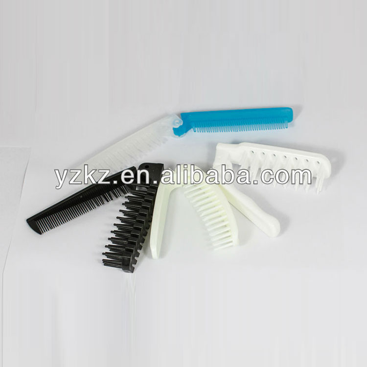 Folding Handy Plastic Hotel Personalized Hair Combs Por Design Comb Product On