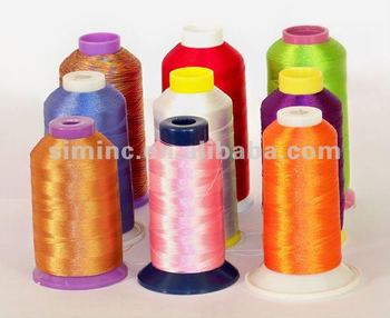 High quality digital machine polyester Embroidery Thread, home embroidery thread