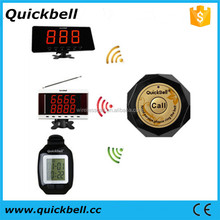 Manufacturer of Restaurant Service Equipment Pager , Restaurant Hotel Wireless Waiter Call System