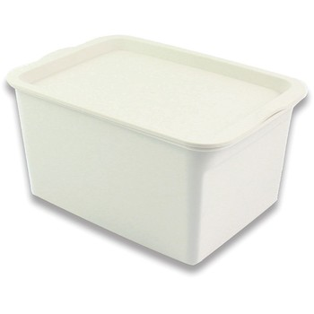 pretty cute white plastic storage boxes with lid buy. Black Bedroom Furniture Sets. Home Design Ideas