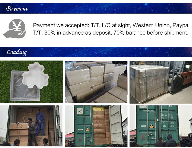 2018 Vendita Calda di alta qualità a buon mercato di plastica di cemento pavimenta stampo A Iniezione