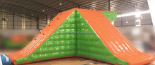 Popular cheap prices used inflatable swimming pool water slide for sale, children trampoline