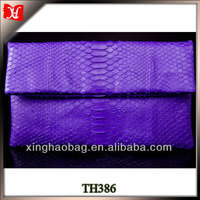 Genuine python skin evening party handbags clutches online shopping