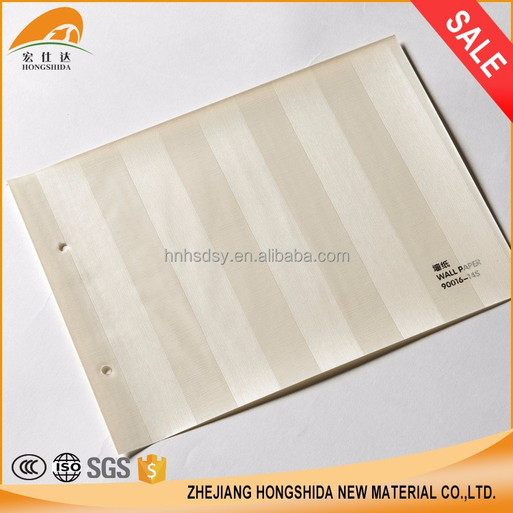 OEM wallpaper manufacturer waterproof plastic film pvc membrane foil