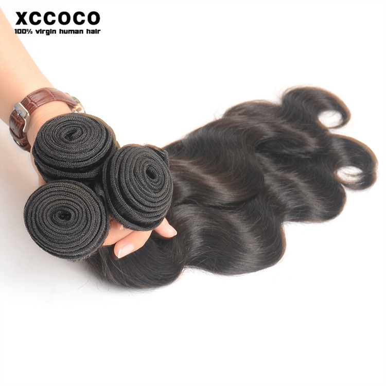 Wholesale Body Wave Virgin Brazilian Hair Extension, Remy 8a Grade Brazilian Hair