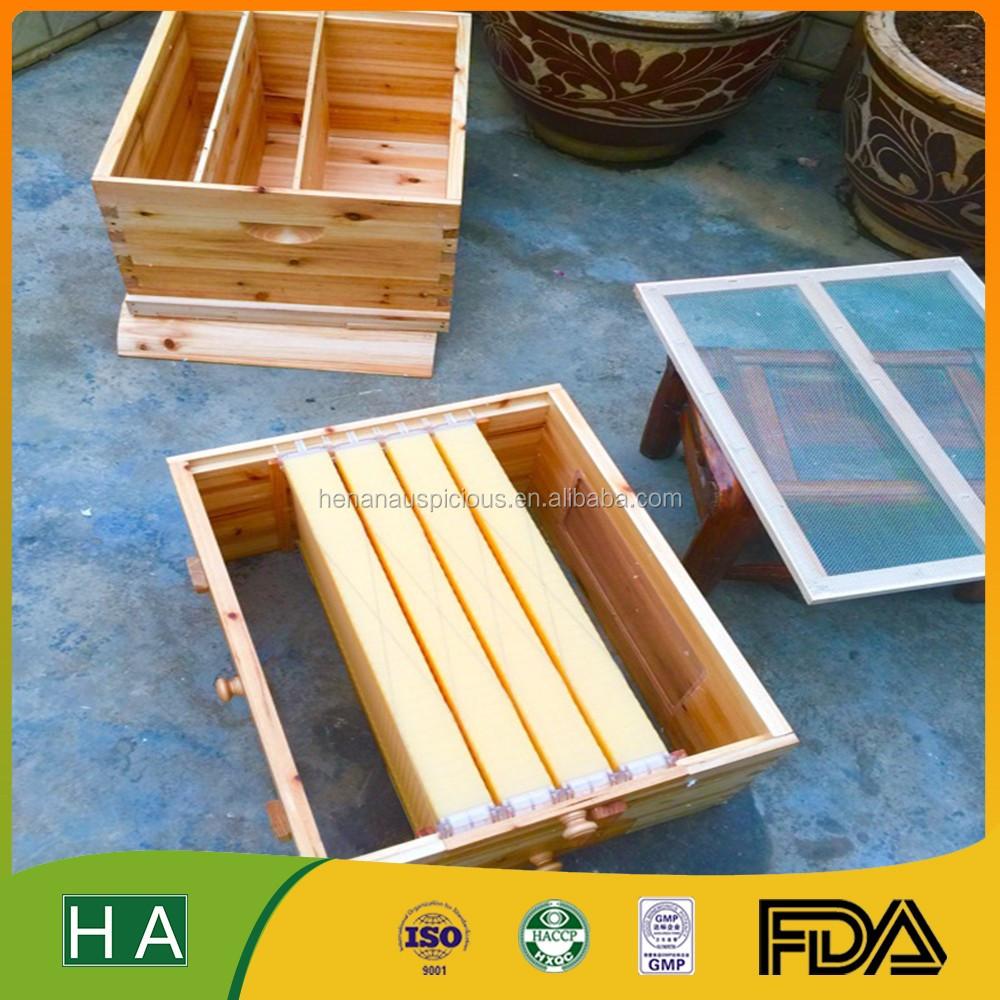 Langstroth flow colmenas 7 unids Flujo de miel marcos de la colmena ...
