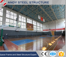 Bolt Ball Join light Gauge Design Steel Structure Space Frame System Gymnsium Hall