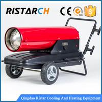 Indirect diesel/kerosene air heater
