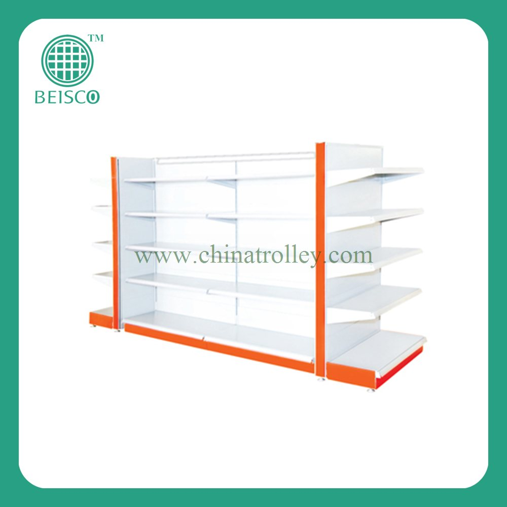 js-ssn) Metal Display Rack Supermarket Shelf Store Display Stand ...