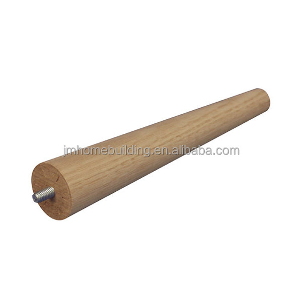 Custom mordern tapered wood legs in high quality from China
