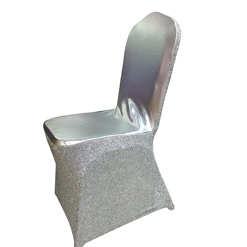 cheap spandex chair cover & sequin chair cover wedding