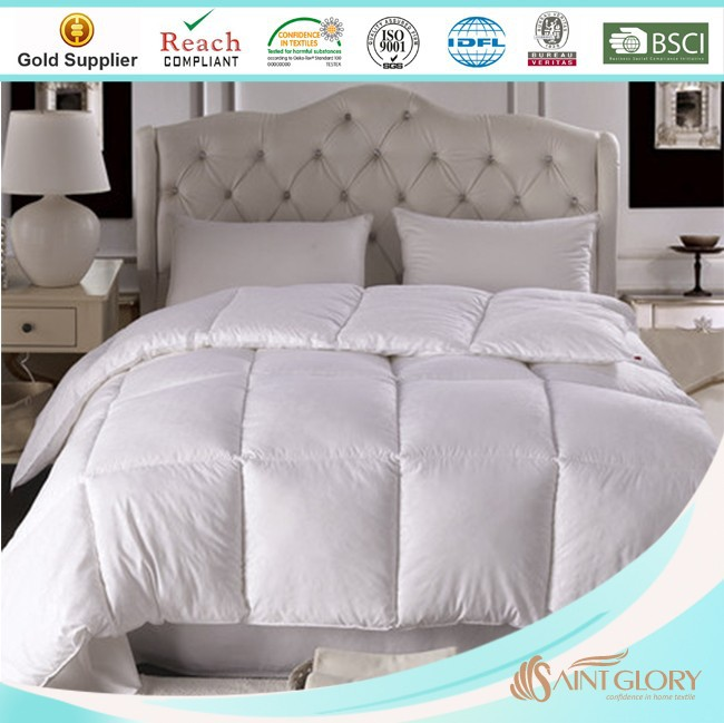 home use adult age group white plain polyester quilts
