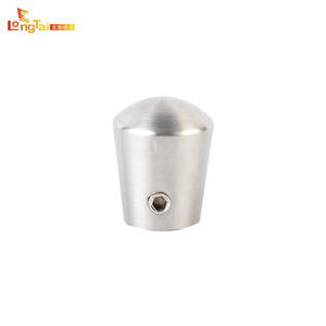 Stainless steel corrosion resistance rounded crossbar end cap