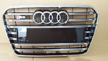 2014 new style car chrome calandre pour 2014 audi a5 s5 buy grille pour 2013 audi a5 s5 car. Black Bedroom Furniture Sets. Home Design Ideas