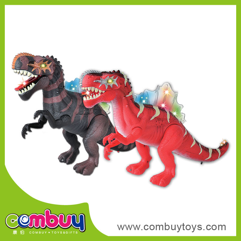 Hot selling battery operated plastic electrical giant dinosaur toy