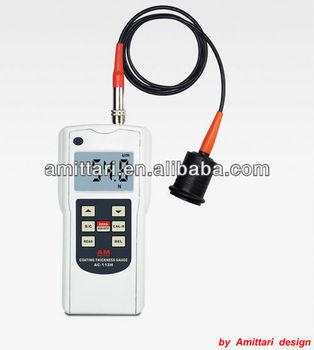 Big Range 0-12000um Digital Galvanized Coating Thickness Tester Ac ...