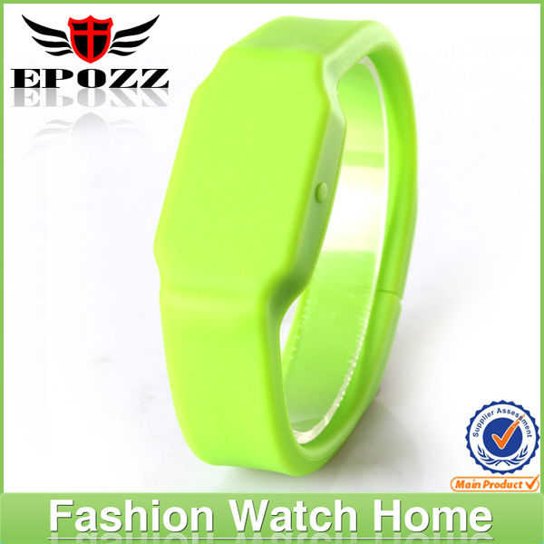 2014 Fantastic Multi-function blinking silicone led watches with USB digital movement, generous silicone strap