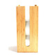 High Quantity Standing Bamboo Toilet Paper Towel Holder for Bathroom