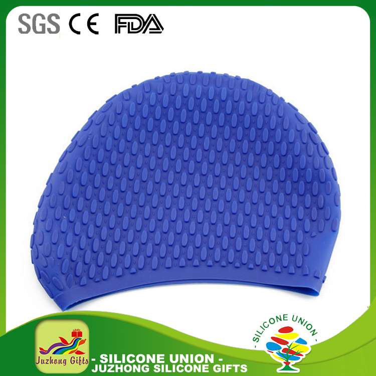 2017 Swimming Caps Waterdrop Silicon Unisex Adult Waterproof Swimming Cap Cover Protect Ear Swim Caps
