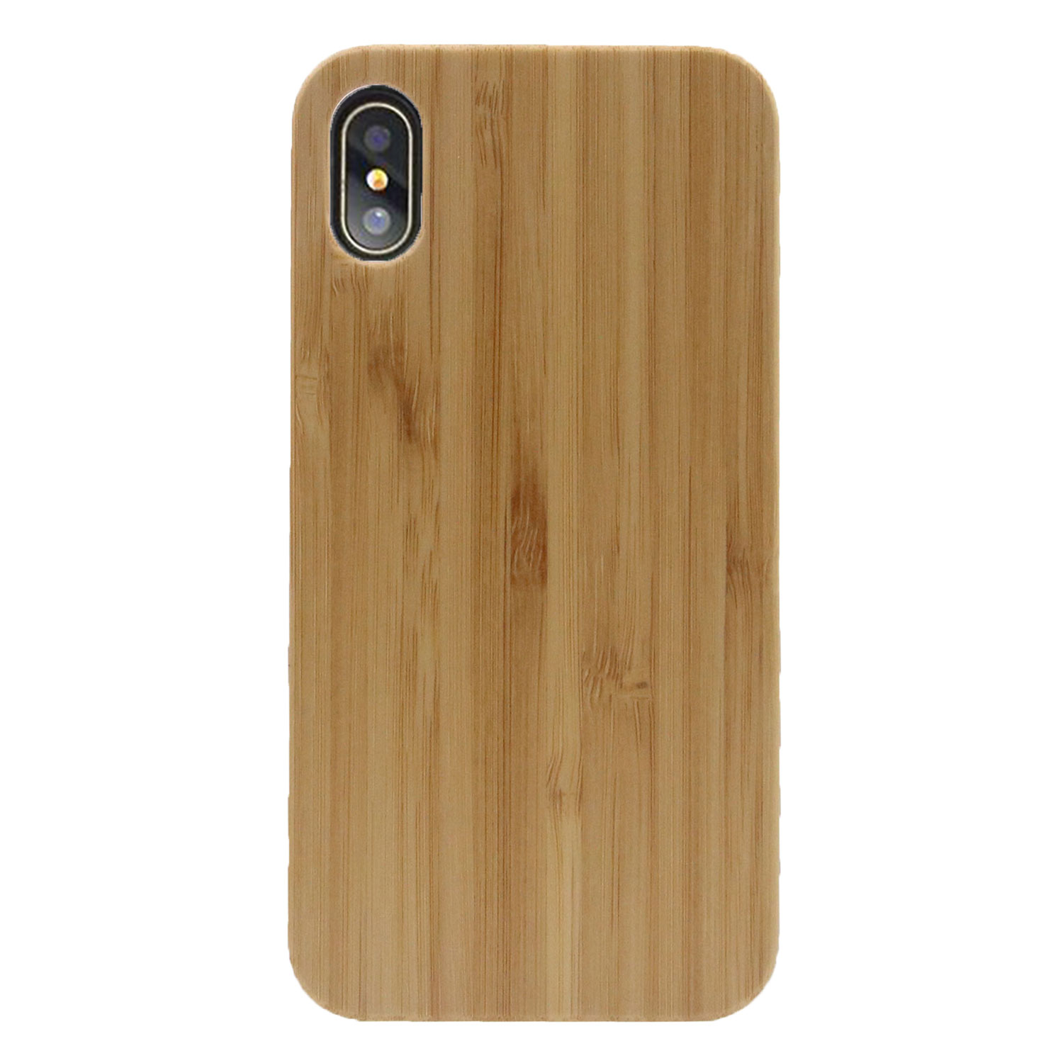 Bamboo+PC Material Case For Apple iPhones 8, Compatible Brand bamboo phone case for iphone 8+