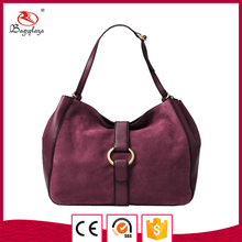 Velvet leather handbag women fashion lady bags handbags women