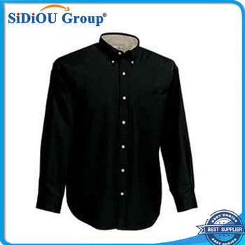 Custom Mens Black Button Down Shirt Button Collar - Buy Black Button Down  Shirt Button Collar 85aa6f9843ba