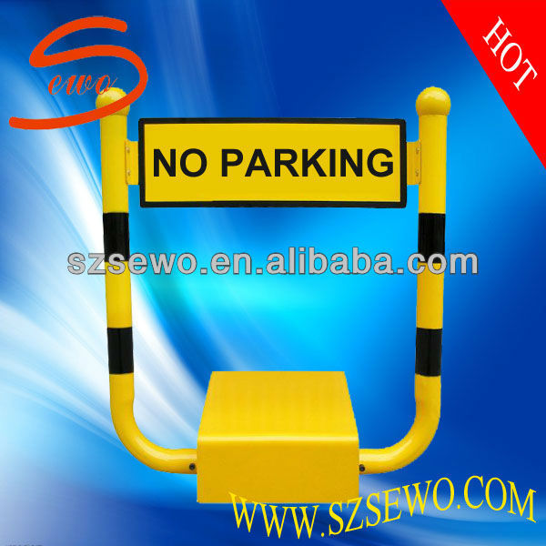 Automatic High Security Car Parking Space Protector with Alarm System