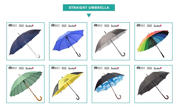 RPET ירוק מטריית פרסום באיכות גבוהה מיוחד ישר מטרייה עם מותאם אישית לוגו הדפסה