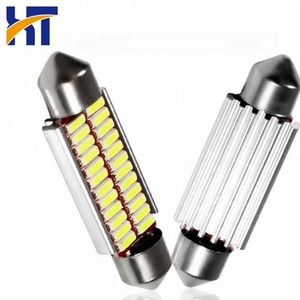 Auto led festoon bulbs car map dome light white festoon reading light bulb 36mm car led bulb