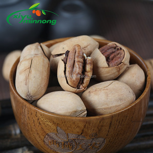 Pecan nuts kernels seeds halves dry natural whole dried jumbo size in shell baking material