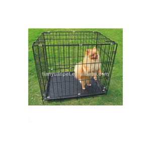 Wholesale collapsible metal dog cage,pet cage