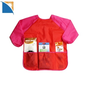 Waterproof Kids Apron with Sleeves Children Art Smocks for Kitchen and Classroom Kids Apron Painting