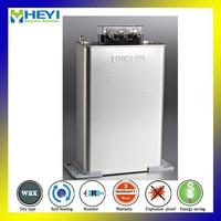 22kvar high voltage oil capacitor three phase 440V 50HZ