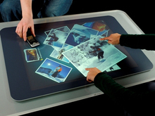 HOT Xintai interactive 2 points 24 touch foil film for touch monitor