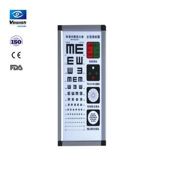 Medical Optical Eye Testing Light Box Vc 008 Visual Chart Buy