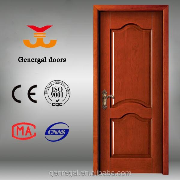 Ce iso9001 en bois int rieur moderne mod les de portes - Modele porte en bois interieur ...
